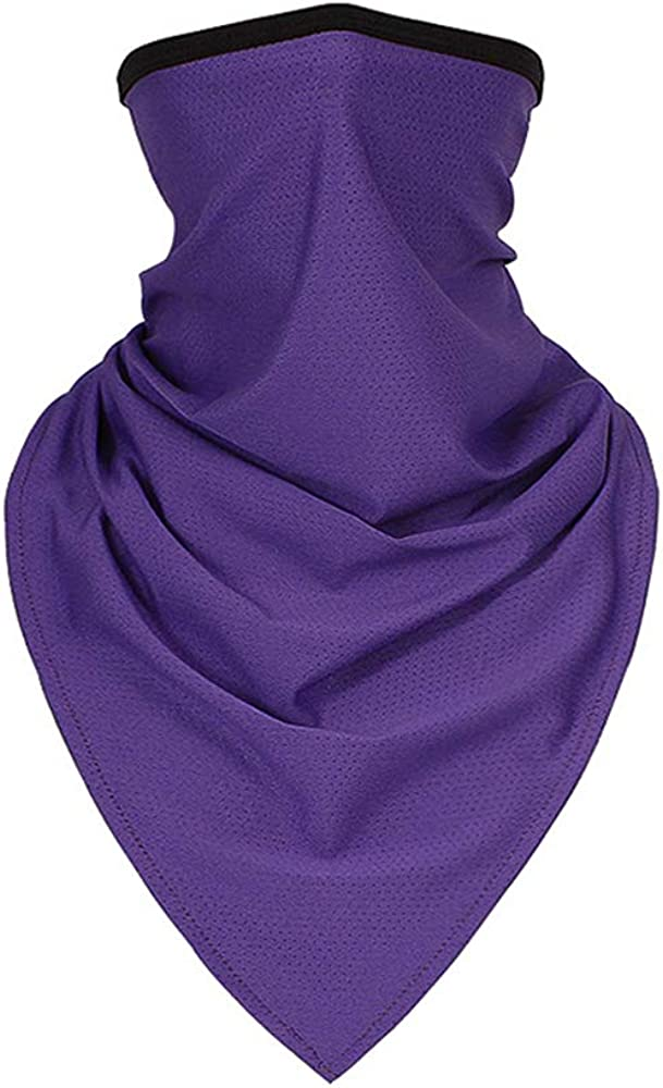 TClian Neck Gaiters UPF 50+ UV Sun Protection Face Mask Breathable Balaclava Bandana Scarf for Outdoor Sport