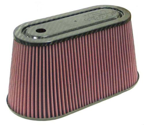 K&N RP-5070 Universal Air Filter - Carbon Fiber Top