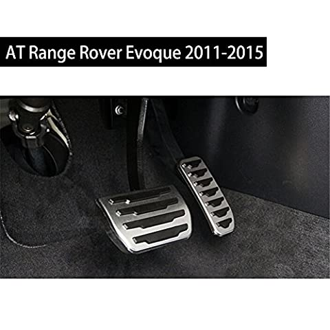 Fit for Land Rover Range Rover Evoque 2011-2017 OEM Design Stainless Steel Brake Foot Rest Pedals - Range Rover Foot