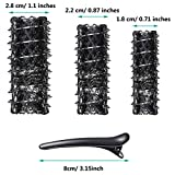 48 Pieces Wire Mesh Hair Rollers Set Hair Perm Rods