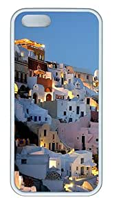Hillside Homes Custom TPU Case Cover for Apple iPhone 5S and iPhone 5 White