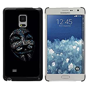 MOBMART Carcasa Funda Case Cover Armor Shell PARA Samsung Galaxy Mega 5.8 - Different Meanings Behind The Mask