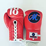 Mongkol Muaythai - Gloves Red M18 Lace