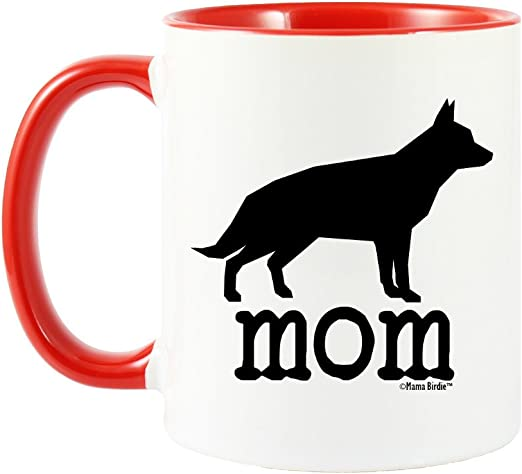 Perfect Gift White 11oz Ceramic Tea Coffee Cup German Shepherd Mug