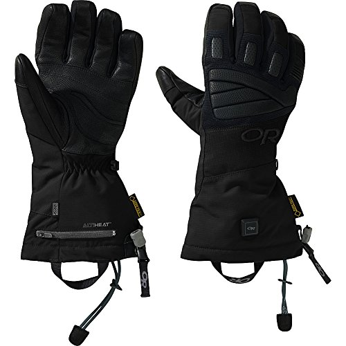 Outdoor Research Lucent Heated Gloves, Black, Medium by Outdoor Research