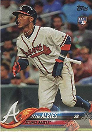 2018 Topps Opening Day  13 Ozzie Albies Atlanta Braves Rookie Baseball Card dc9999b0d