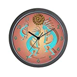 CafePress – Kokopelli W/ Sun – Unique Decorative 10″ Wall Clock