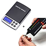 HDE Diamond Test Kit Precious Metals And Gem Tester + Digital Pocket Scale