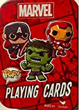 NEW! Marvel POP Playing Cards in Collectible Tin