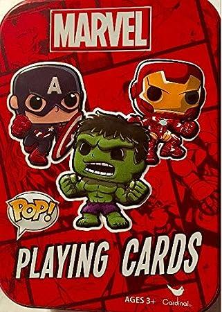 Nuevo. Marvel Pop juego de cartas en lata coleccionable ...