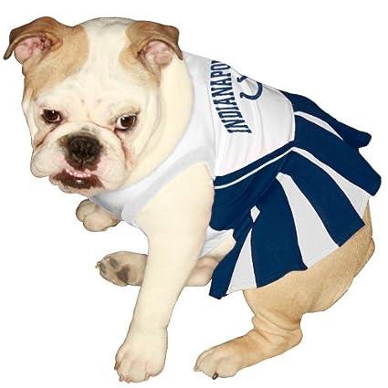 77ecc653 NFL Indianapolis Colts Royal Blue-White Pet Cheerleader Dress