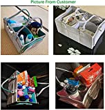 Baby Diaper Caddy Organizer with Handle Gender