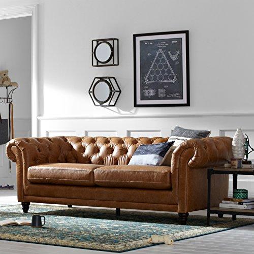 Bradbury Chesterfield Sofas Amp Couches Modern Sofa 93 Quot W