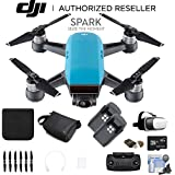 DJI Spark Quadcopter (Sky Blue) CP.PT.000733 2 Battery Bundle