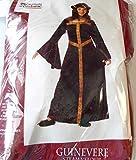 California Costumes Renaissance Guinevere Steam Velour Burgundy Child Costume L 10-12NIP
