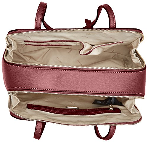 Main à Guess Bordeaux Sac Devyn Femme Rouge fUZq76w
