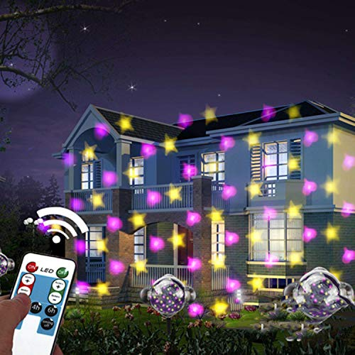Projector Mini Low Voltage (Mini Snow Light LED Projection Light Effect Light Star Love Pattern Snowflake Projection Light Outdoor Waterproof Christmas Light)