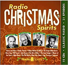radio christmas spirits old time radio original radio broadcasts 9781570199066 amazoncom books - Old Time Radio Christmas