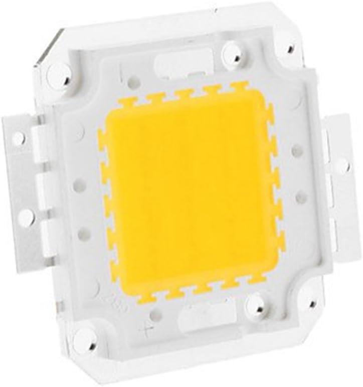WELSUN High Power LED Chip Beads COB Beads 20W 30W 50W 70W 100W 3000K//6000K For Floodlight Spotlight Color : Warm white , Wattage : 70W