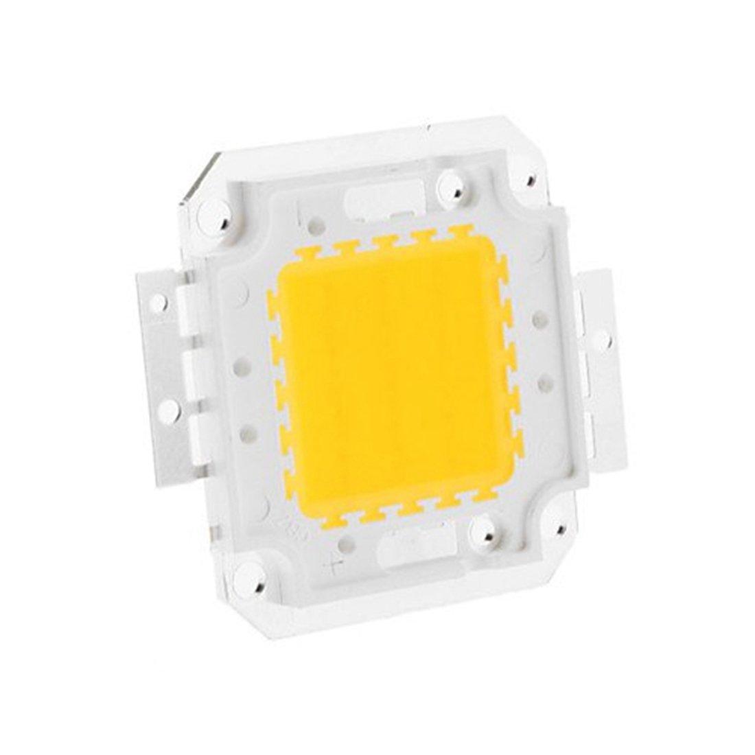 Couleur : Blanc chaud, Wattage : 30W Perles d/ÉPI de perles de la puce de puissance /élev/ée LED 20W 30W 50W 70W 100W 3000K//6000K pour le projecteur de projecteur