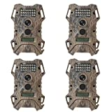 Wildgame Innovations Terra Extreme 12MP HD Hunting Game Video Camera (4 Pack)