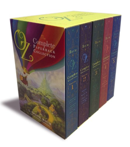Oz, the Complete Paperback Collection: Oz, the Complete Collection, Volume 1; Oz, the Complete Collection, Volume 2; Oz, the Complete Collection, ... 4; Oz, the Complete Collection, Volume 5 -