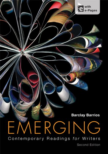 Emerging  Contemporary Readings For Writers
