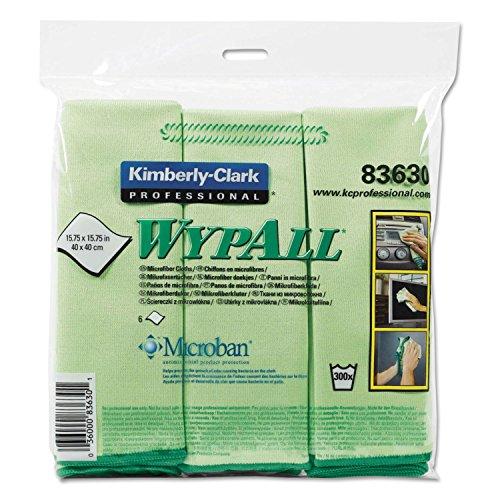 KCC83630 - Kimberly-Clark WypAll Microfiber Cloths