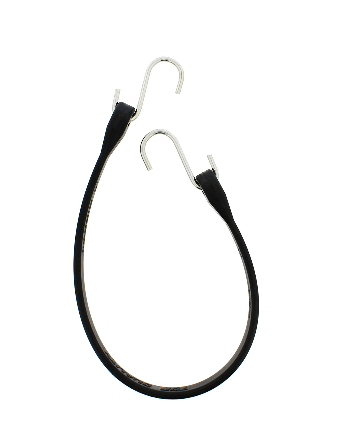 """18/"""" Max Stretch Heavy Duty Bungee Cord Set ABN EPDM Bungee Cords with Hooks 50pk 10/"""" Inch Bungee Tie Downs"""