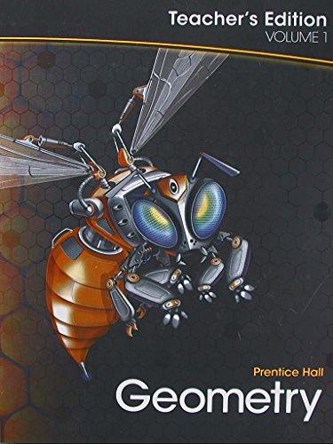 Geometry, Volume 1, Teacher's Edition, 9780133697070, 013369707x