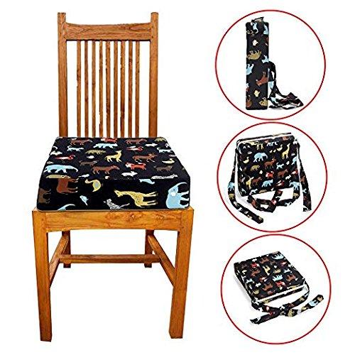 Amazon.com: Cojín para silla de comedor para niños, portátil ...