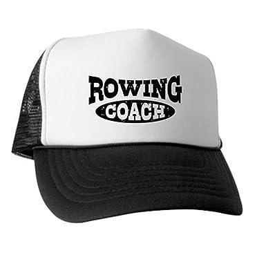 9bfab5f47bb CafePress Rowing Coach - Trucker Hat
