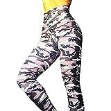 Xavigio_Women Leggings Women's High Waist Camo Yoga Pants Butt Lifting Tummy Control Workout Running Tights