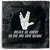 Boldly Go Where No One Has Gone Before Star Trek Condom