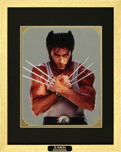 X-Men Origins. Hugh Jackman as Wolverine. Movie Poster Framed Photo with Plate