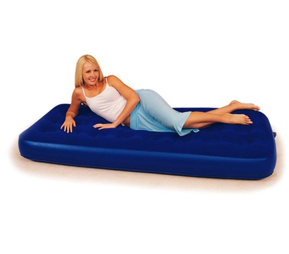 67000 Colchón inflable Bestway azul 185 x 76 x 22 cm: Amazon.es ...