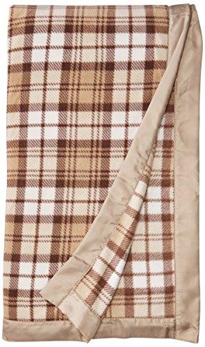 (True North by Sleep Philosophy Premier Comfort Micro Fleece Blanket, Full/Queen, Tan Plaid )