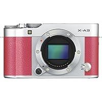 Fujifilm X-A3 Mirrorless Digital Camera Body Only (Pink) (International Model No Warranty)
