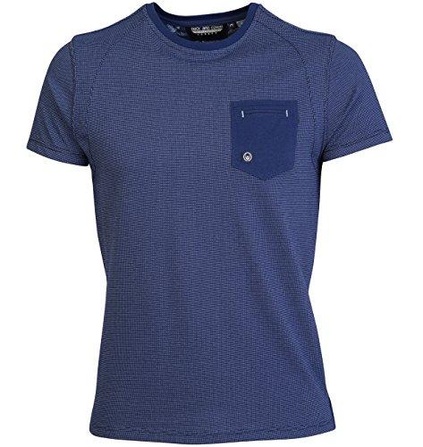 Duck & Cover para hombre Meyer cuello redondo camiseta de manga corta con bolsillo en el pecho