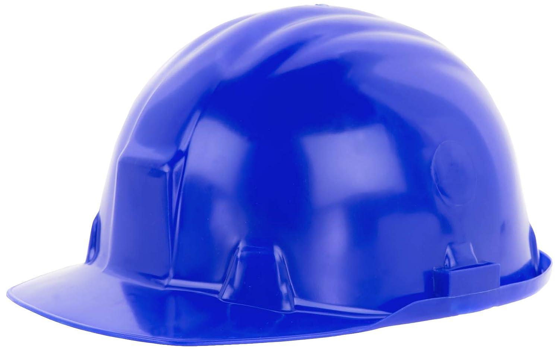 Reis Arbeitsschutzhelm EN397 CAT III | Schutzhelm ideal fü r die Baustelle oder Handwerker | Bauarbeiterhelm aus hartem HDPE | Arbeitshelm mit 6-Punkt-Aufhä ngung | Helm Farbe: blau