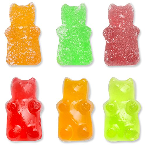 Gummy Molds Silicone Bear | Candy & Chocolate Mold Maker for Jello Gelatin Bears | Kids Party 6 Pack with 2 Bonus Droppers – 300 Cavities – Non Stick & BPA Free – By Lucentee by LUCENTEE (Image #2)