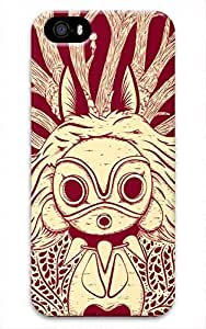 Big Eyes Cartoon Designed DIY Phone Case for 3D iphone 5/5S