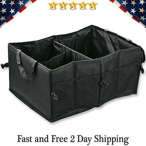(Car Trunk Foldable Organizer Storage Box)