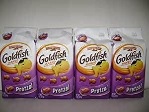 Pepperidge Farm Gold Fish Baked Pretzel (8oz X4 Packs)