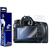ArmorSuit MilitaryShield - Canon EOS 80D / 70D (Top LCD Included) Screen Protector Ultra HD - Extreme Clarity & Touch Responsive w/ Lifetime Replacements