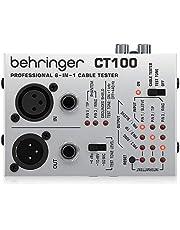 Behringer CT100 - Comprobador de cables de instrumentos profesional 6 en 1