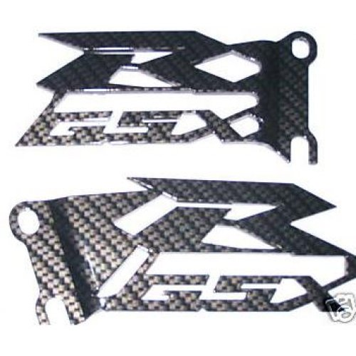 Suzuki Gsxr 600, 750, 1000, and Srad Heel Guard Carbon Fiber Look