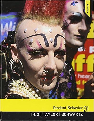Deviant Behavior (11th Edition) Ebook Rar