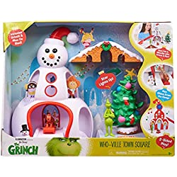 Grinch Movie Whoville Town Center Playset
