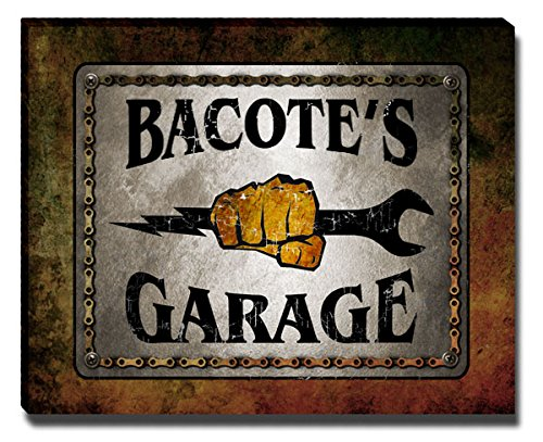 Bacote Wood - ZuWEE Bacote Family Garage Gallery Wrapped Canvas Print